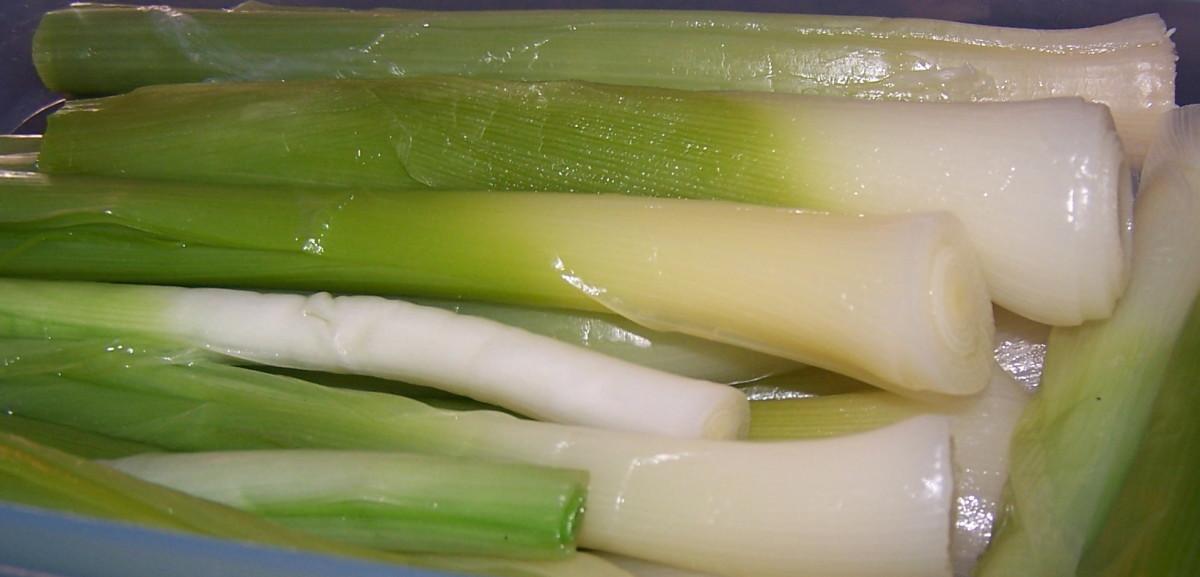 Leeks Add Sweetness to Soups