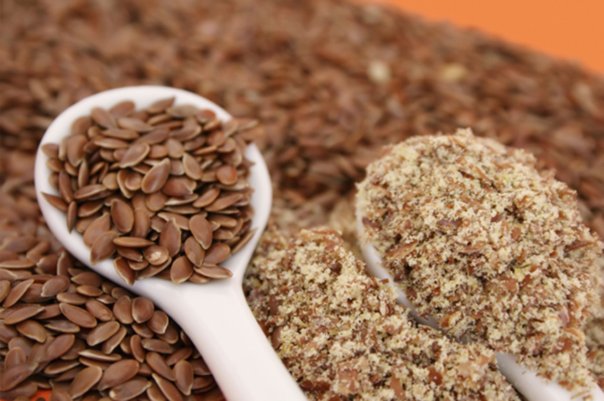 The vast majority of the fats in flax seeds are polyunsaturated fats, which are good fats essential for good health. Photo:  eliane@istockphoto