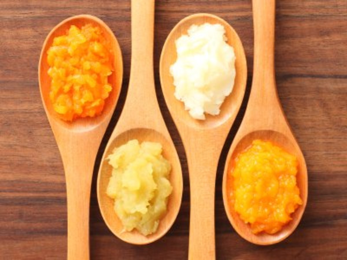 Pureed vegetables are an easy and healthy way to thicken soups.