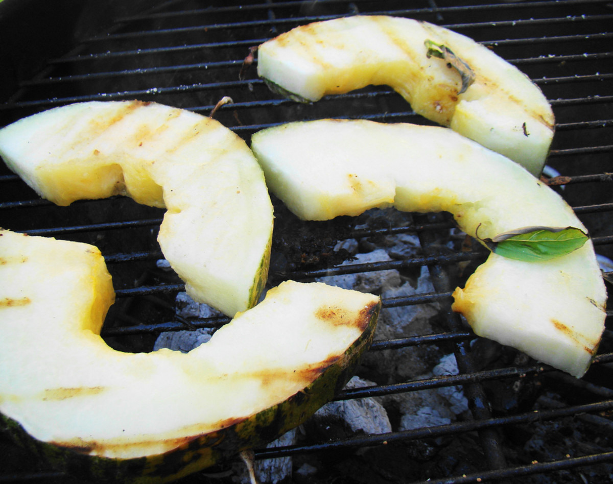 Delicious grilled melon - a surprising treat