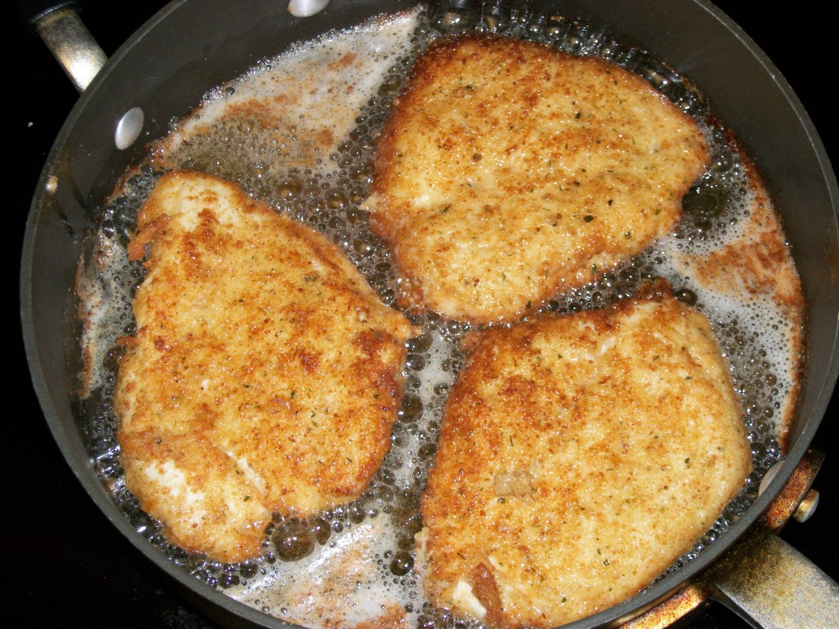Do not crowd the cutlets in the pan