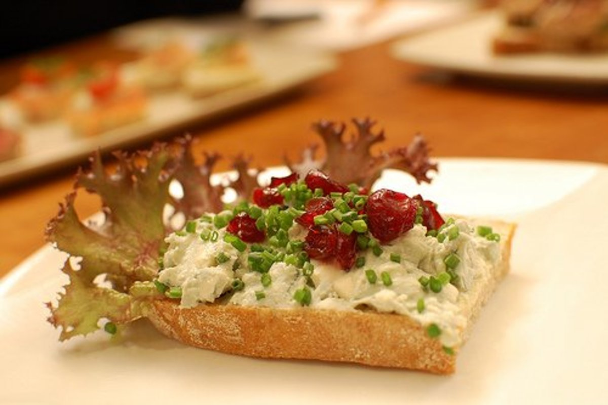 Creamy, crumbly blue cheeses, like this Danish Blue, will have the strongest flavors.