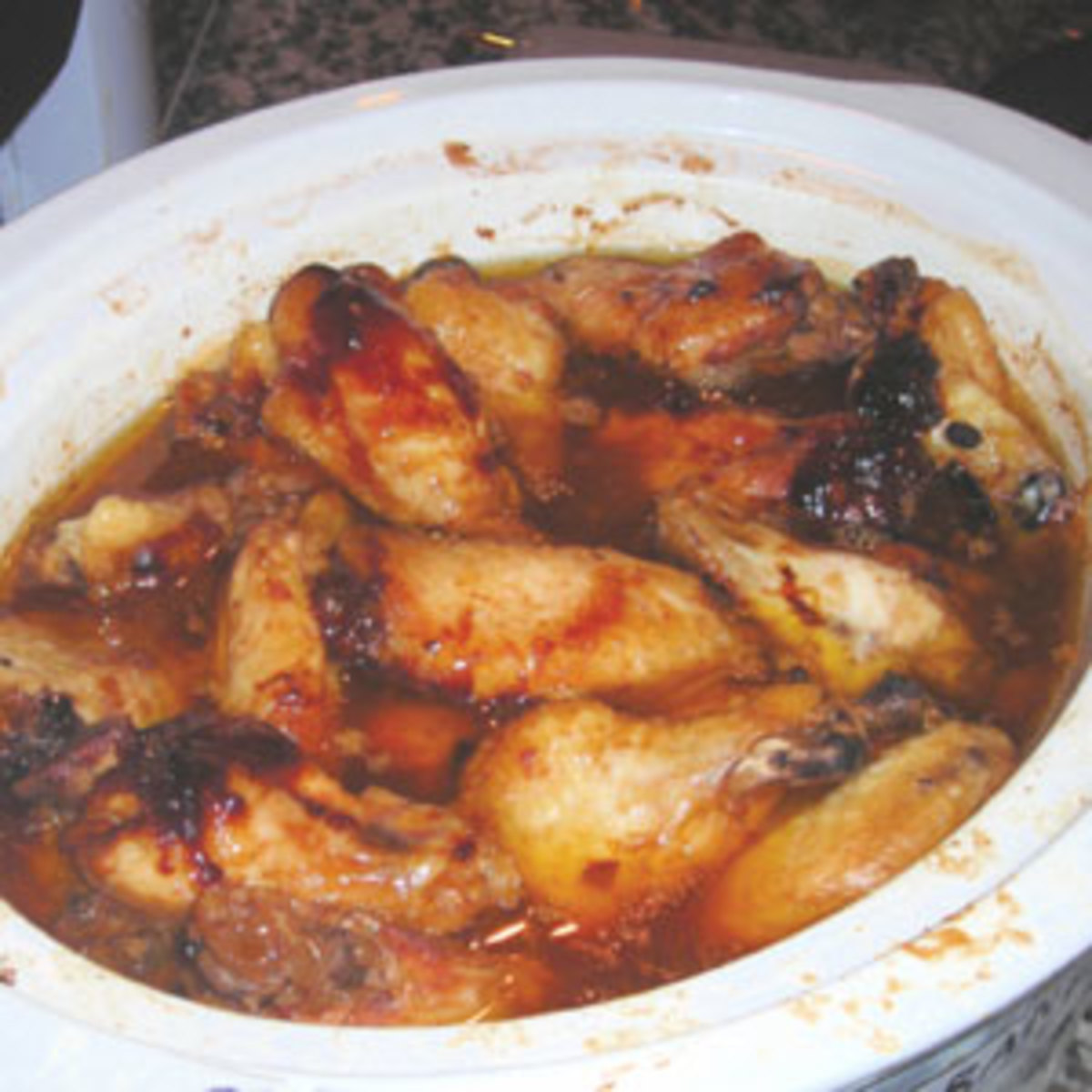 Crock-Pot Chicken Wings