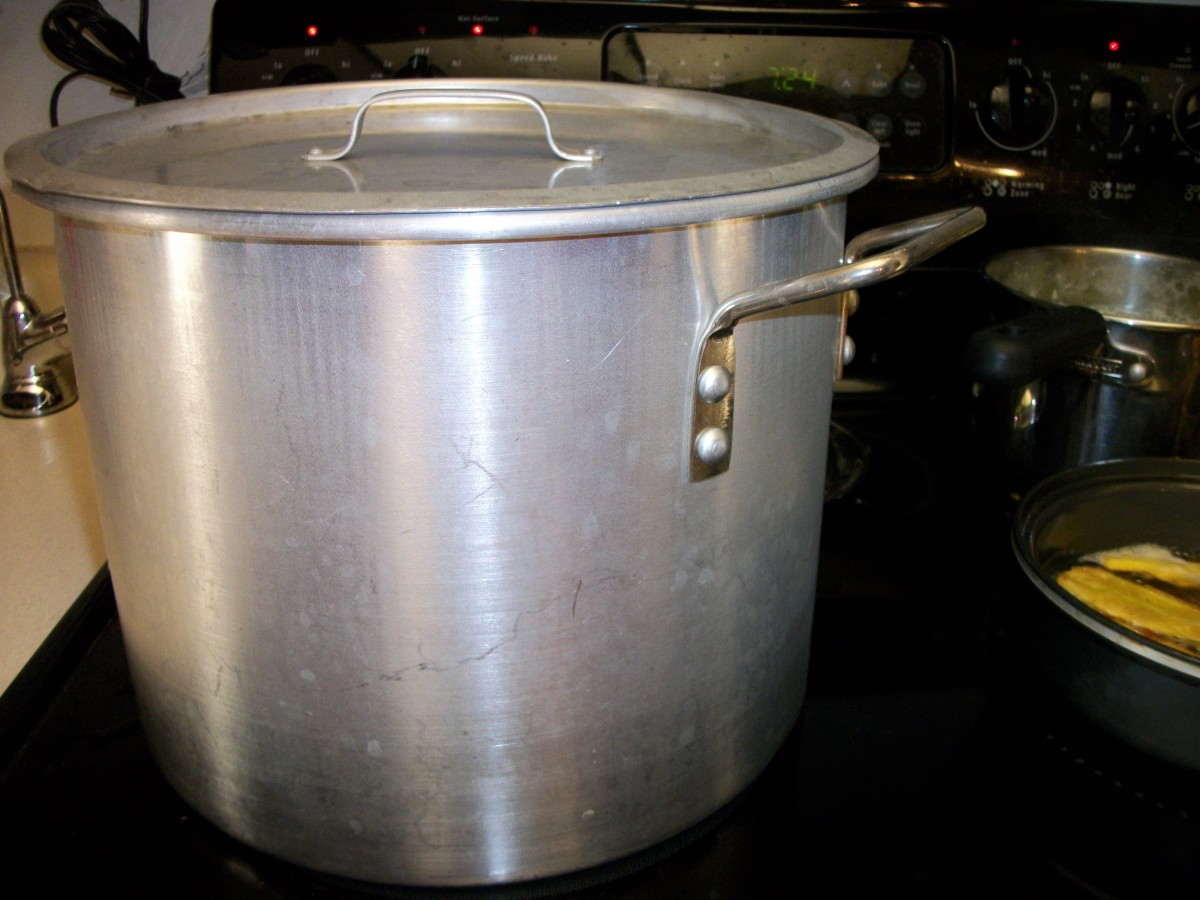 Use a large stock pot and make enough for a week, or freeze some