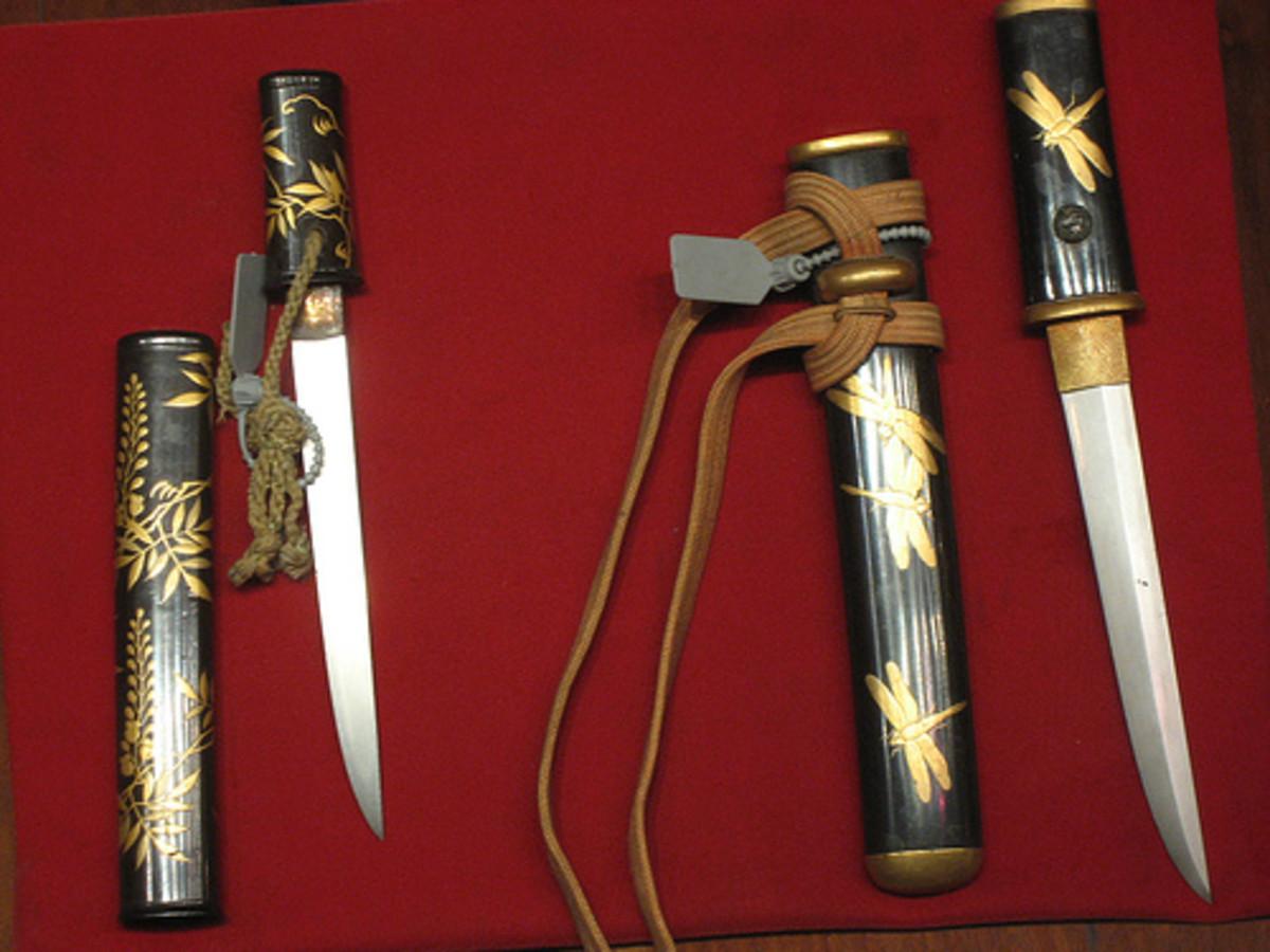 Artistic Knives (Photo courtesy by Kai Hendry from Flickr.com)