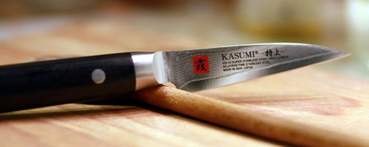 Small Kasumi Knife is Used for Paring