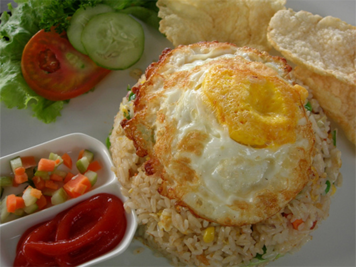 Fried Rice with Veggies (Photo courtesy by rizkapb from Flickr.com)
