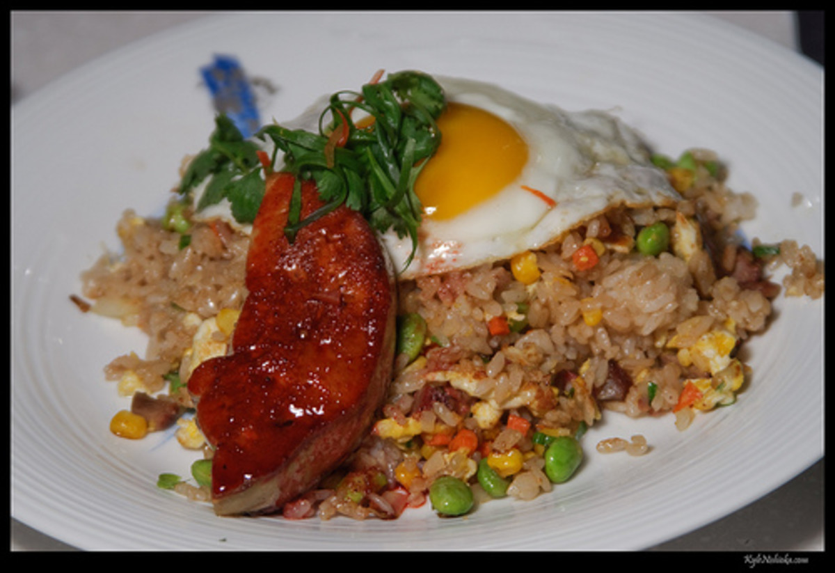Fried Rice with Egg and Pork (Photo courtesy by madmarv00 from Flickr.com)