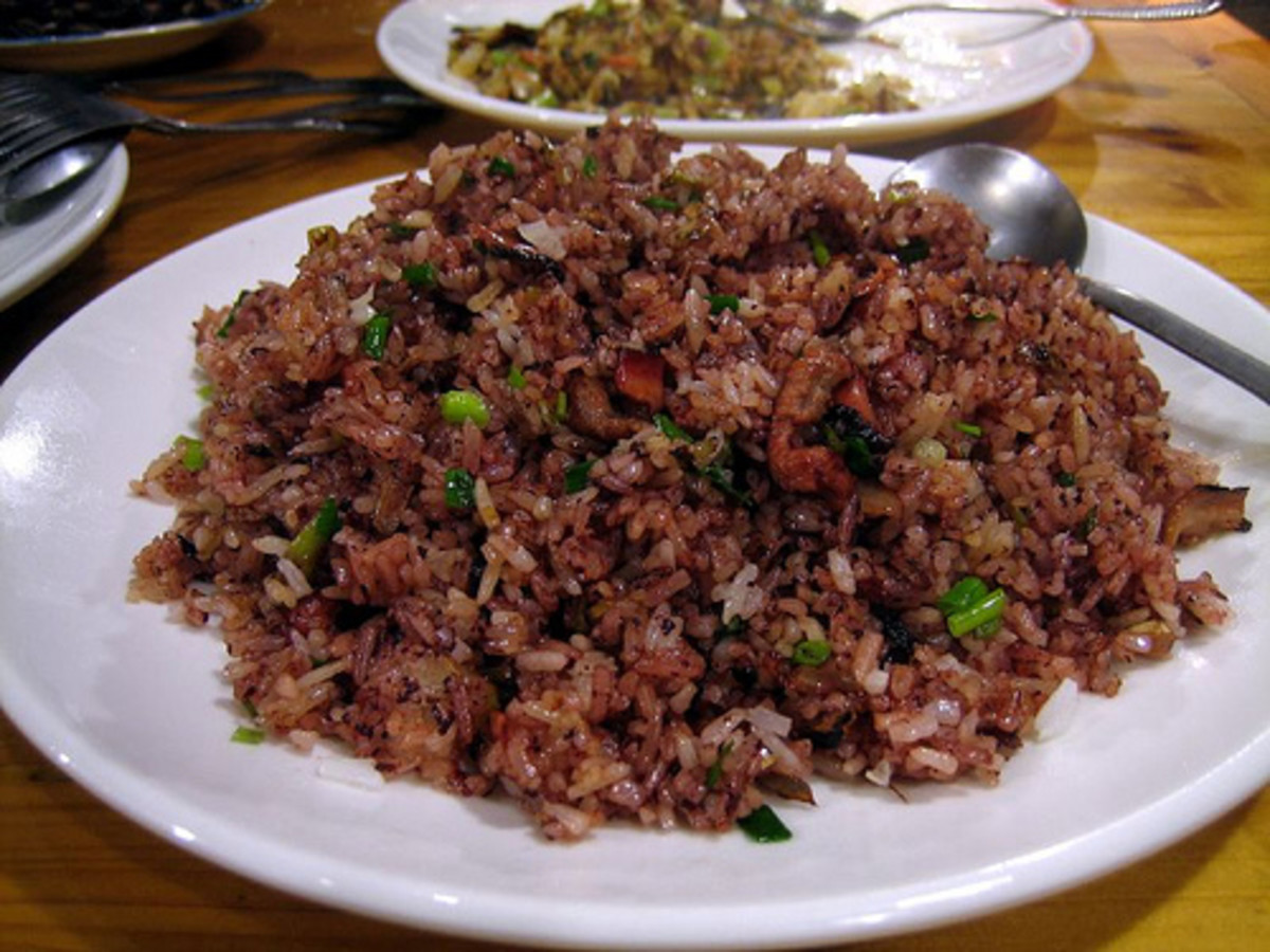 Matsu Fried Rice Marinated in Old Wine (Photo courtesy by Prince Roy from Flickr.com)