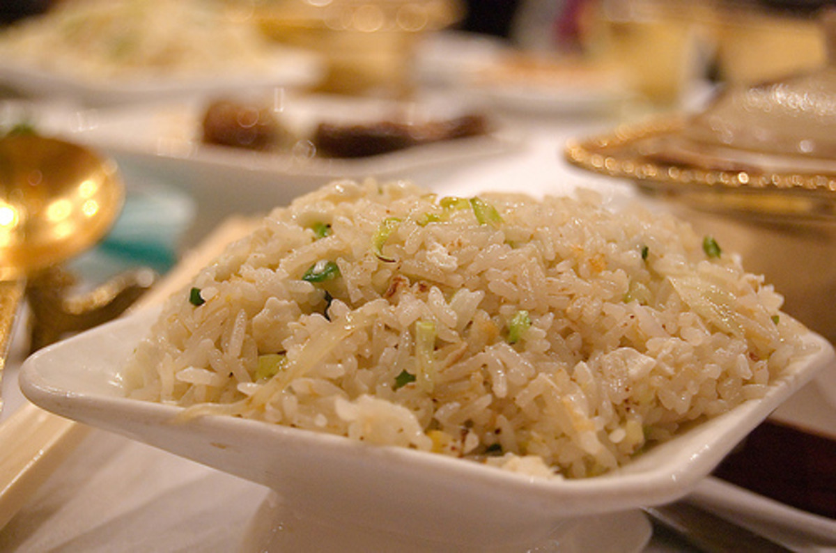 Fried Rice with Conpoy & Egg White (Photo courtesy by relgar from Flickr.com)
