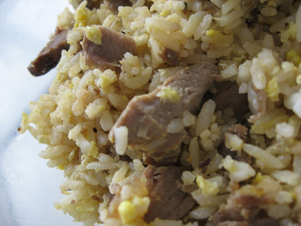 Garlic Fried Rice with Prime Rib (Photo courtesy by arnold - inuyaki from Flickr.com)