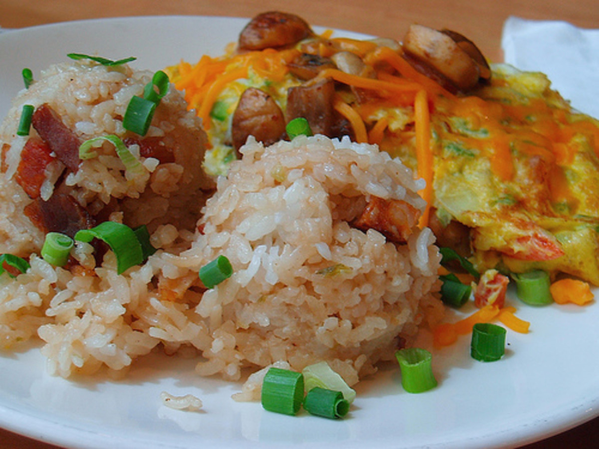 Fried Rice and Omelet (Photo courtesy by love-janine from Flickr.com)