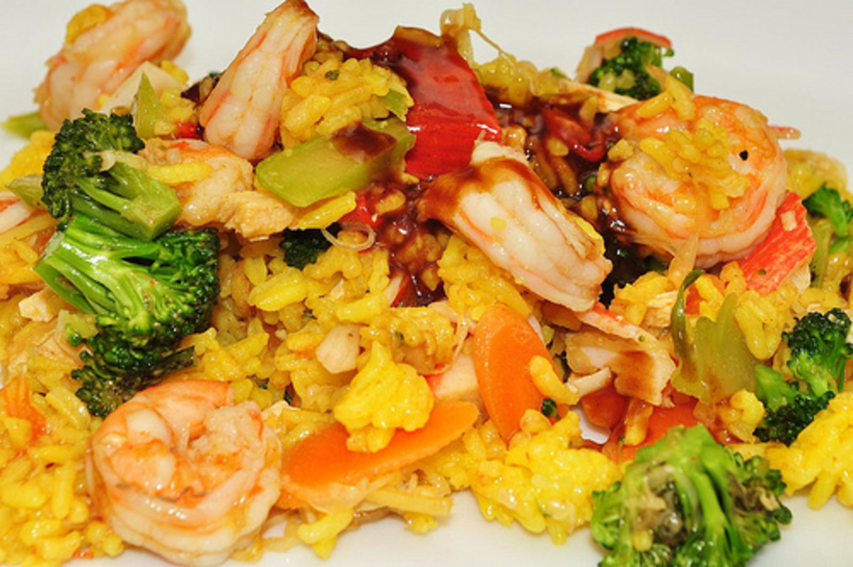 Seafood Fried Rice (Photo courtesy by jeffreyw from Flickr.com)