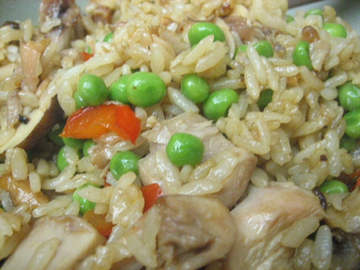 Chicken Fried Rice (Photo courtesy by patrickwoodward from Flickr.com)