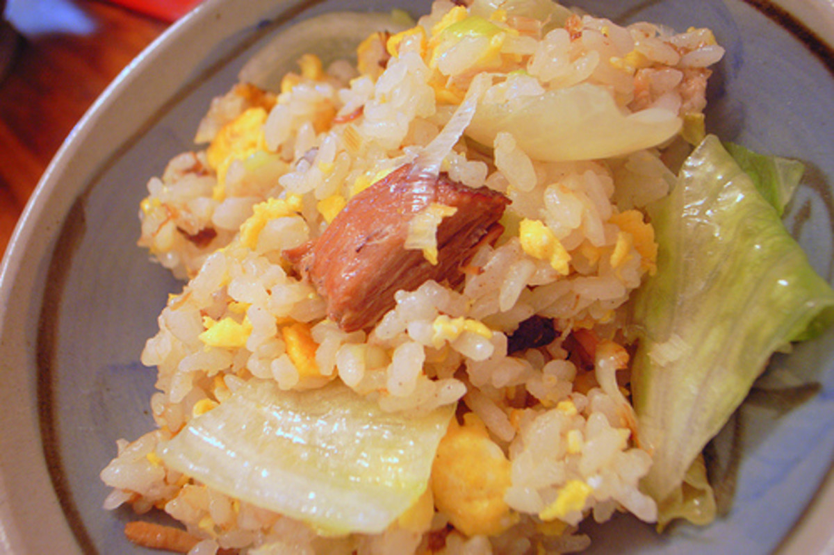 Fried Rice with Lettuce (Photo courtesy by yoppy from Flickr.com)