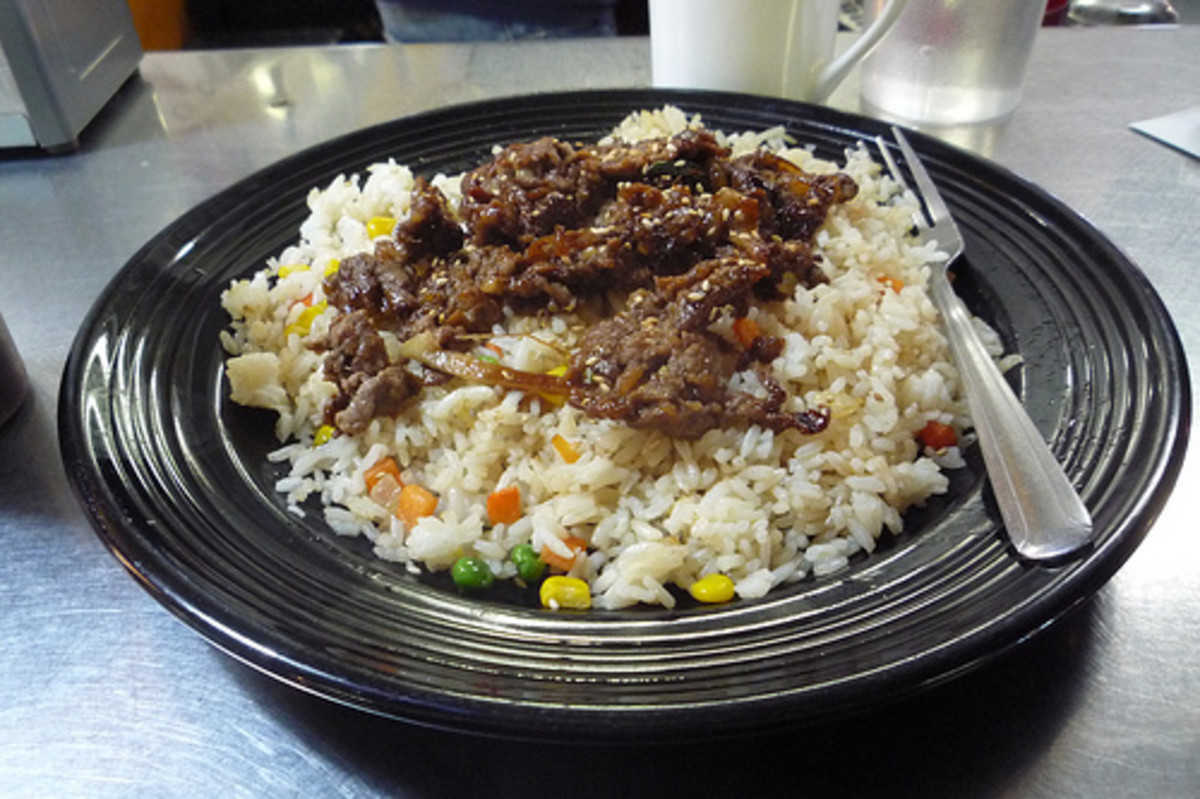 Bulgogi Fried Rice (Photo courtesy by Rex Roof from Flickr.com)