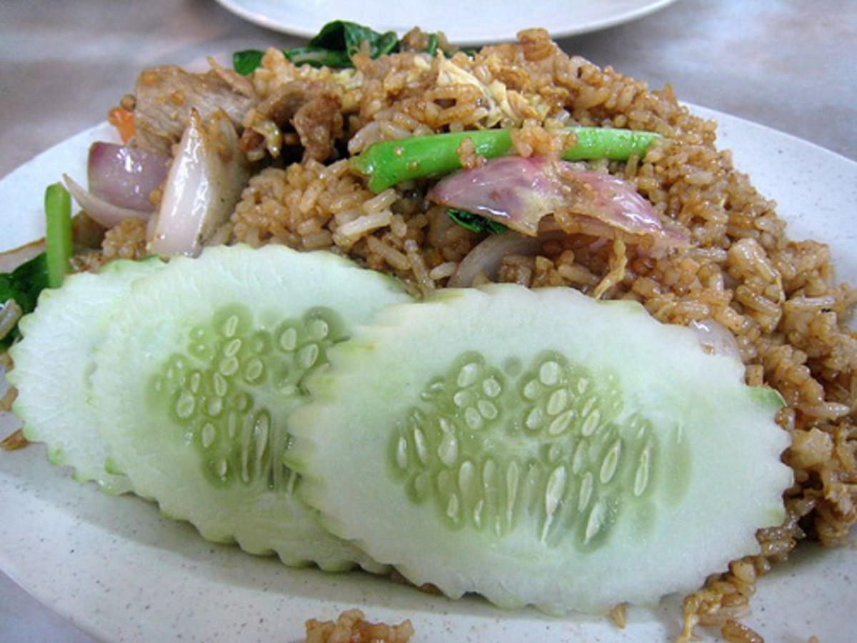 Diandin Leluk Fried Rice (Photo courtesy by scaredy_kat from Flickr.com)