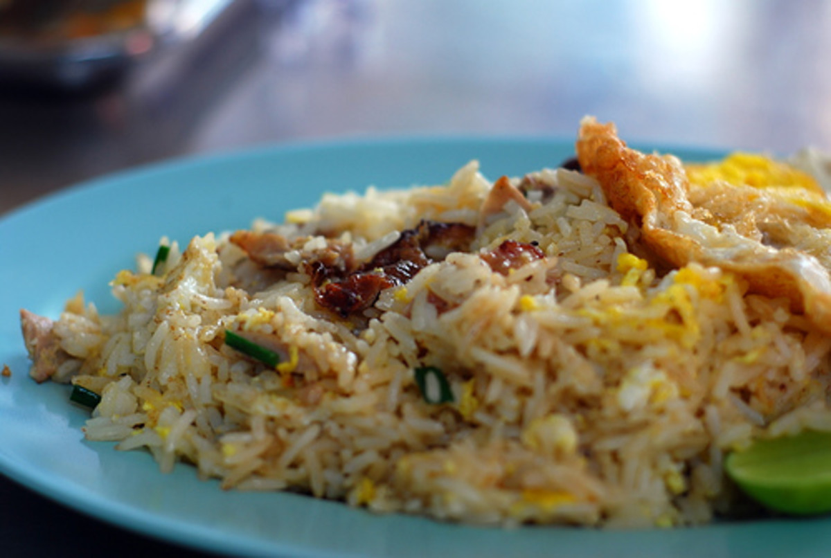 Fried Rice with Roast Duck and Fried Egg (Photo courtesy by jackol from Flickr.com)