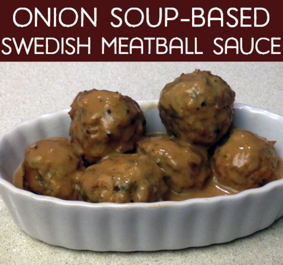 Onion Soup-Based Swedish Meatball Sauce