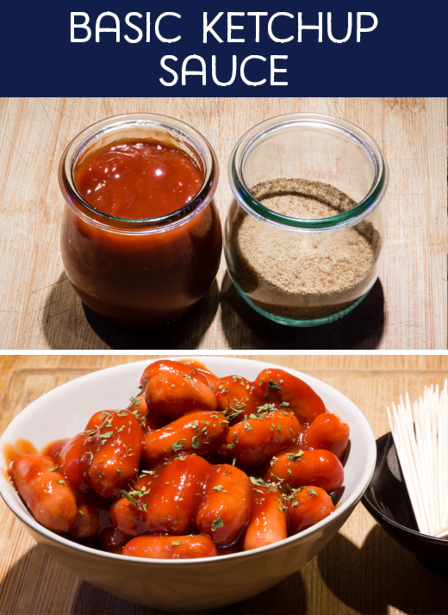 Basic Ketchup Sauce