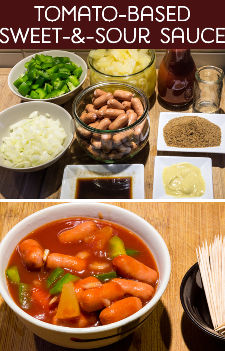 Tomato-Based Sweet-and-Sour Sauce