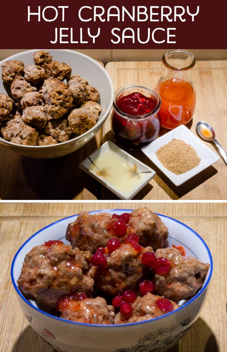 Hot Cranberry Jelly Sauce
