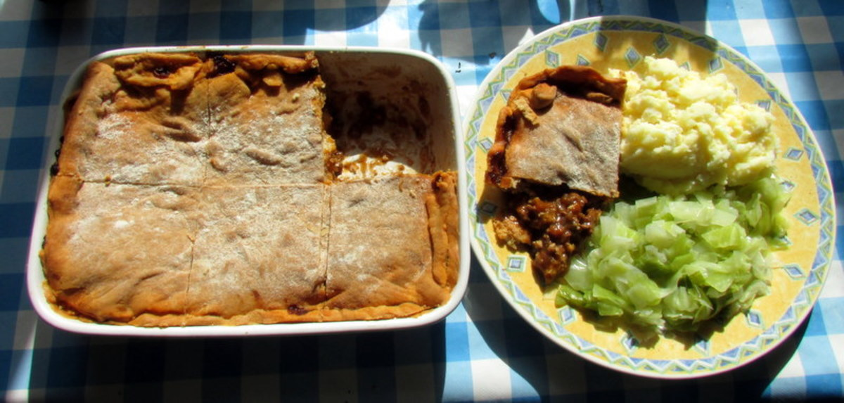 Learn how to make this ground beef pie recipe.