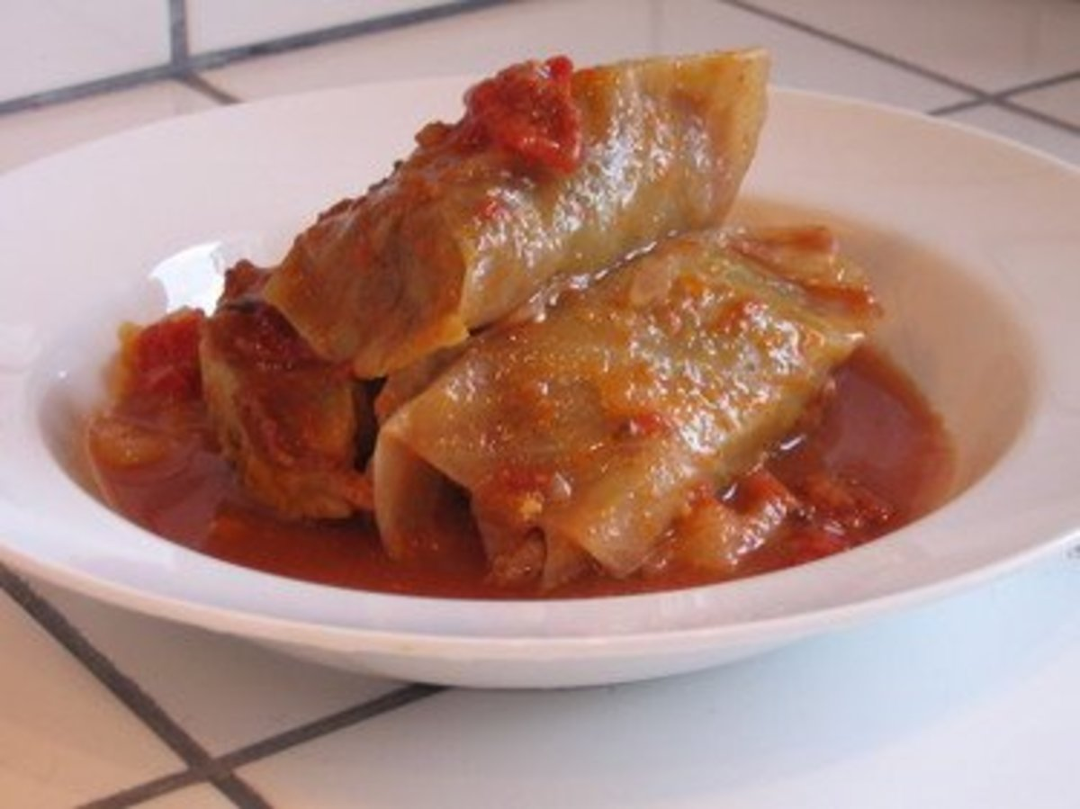 "Cabbage rolls are a ""must try"" part of Polish cuisine."