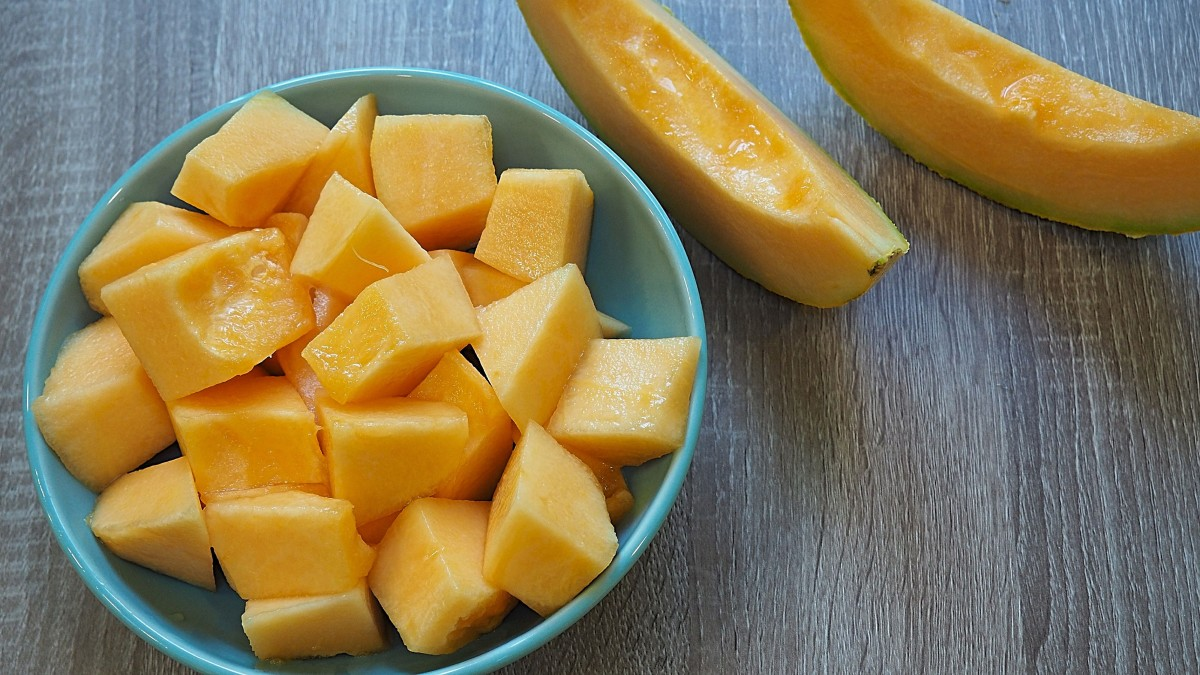 Nothing beats a bowl of perfectly sweet cantaloupe!