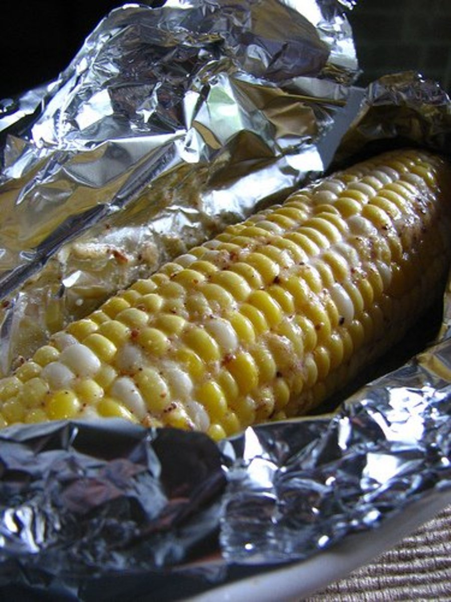 baked corn-on-the-cob