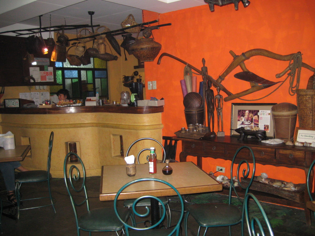 Little Quiapo  Restaurant Interior