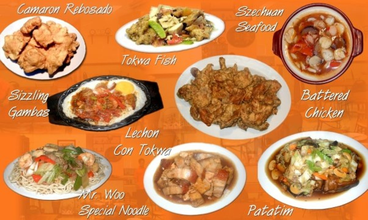Boy Ching Woo Specialty Dishes