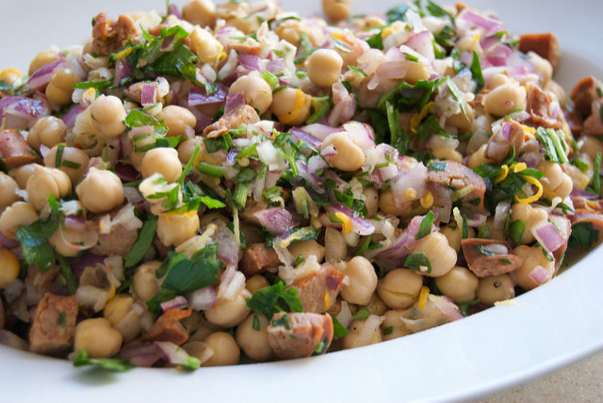 Cooked garbanzo beans can be used in a variety of delicious dishes.