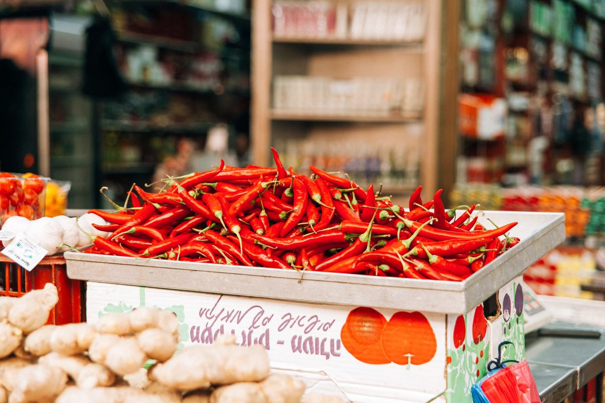 Capsicum (red pepper or chili pepper) has tons of health benefits.