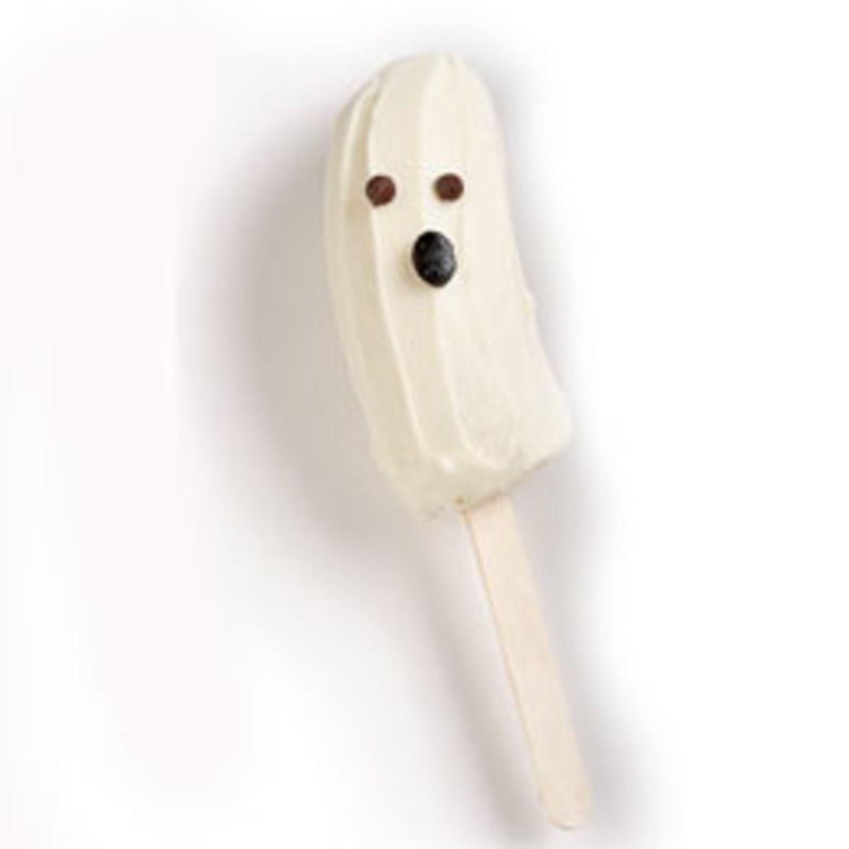 Banana ghosts are a classic Halloween snack.