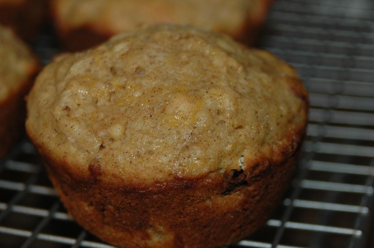 Pumpkin sauerkraut muffins