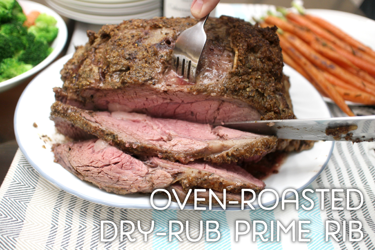 Oven-Roasted Dry-Rub Prime Rib
