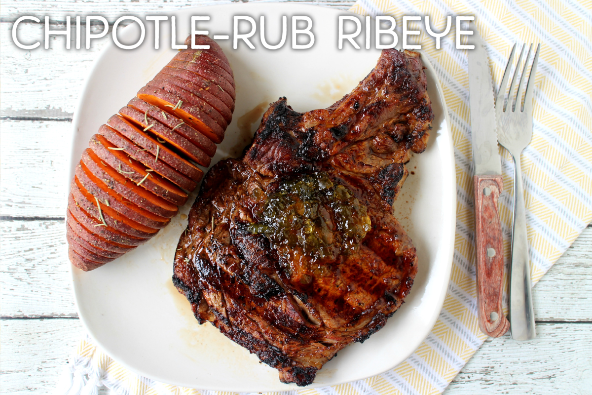 Chipotle-Rub Ribeye