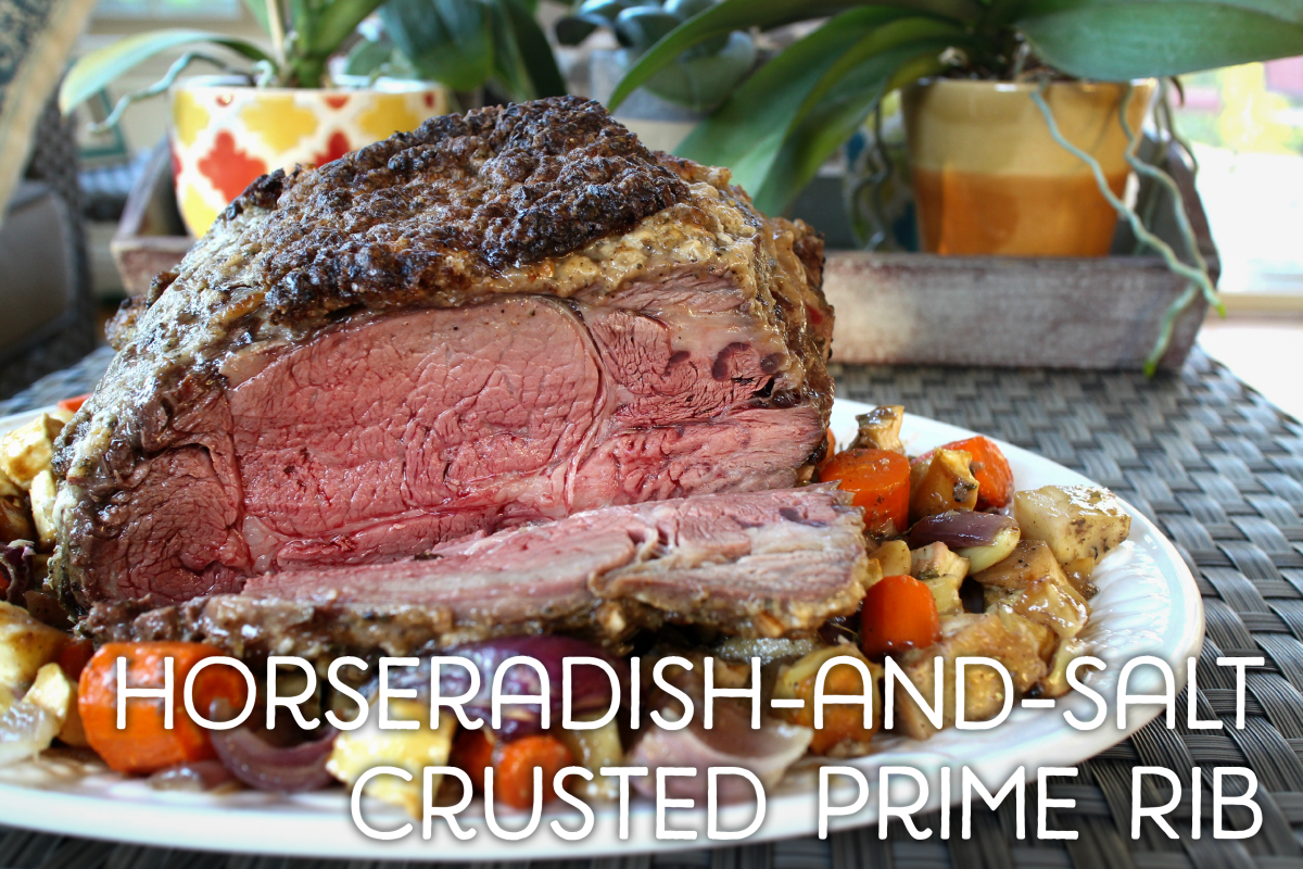 Horseradish-and-Salt-Crusted Prime Rib