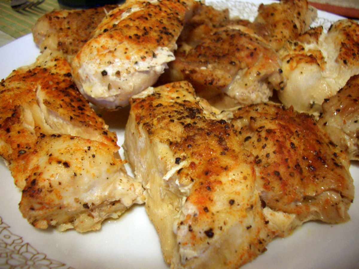 You can make baked chicken all kinds of ways and almost all of them are delicious.