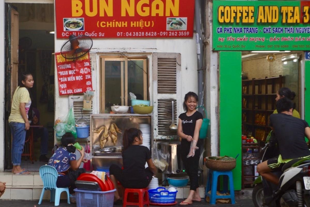 Street Restaurant in Hanoi