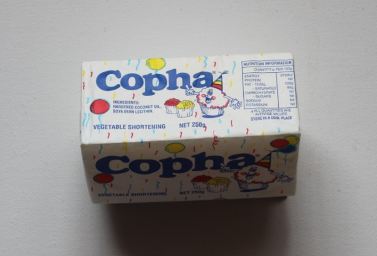 This is what a block of Copha looks like.