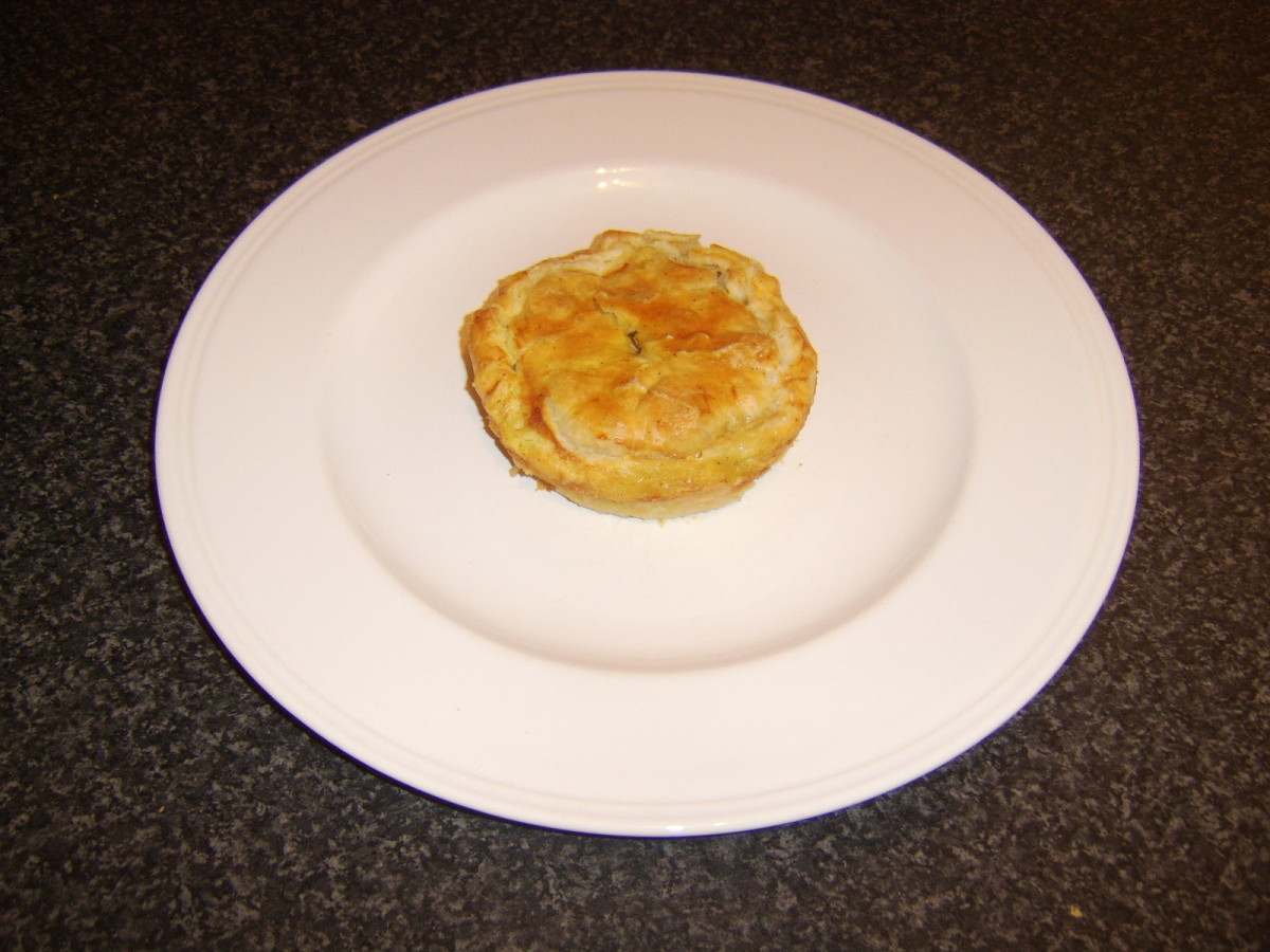 Individual Chicken and Mushroom Pie