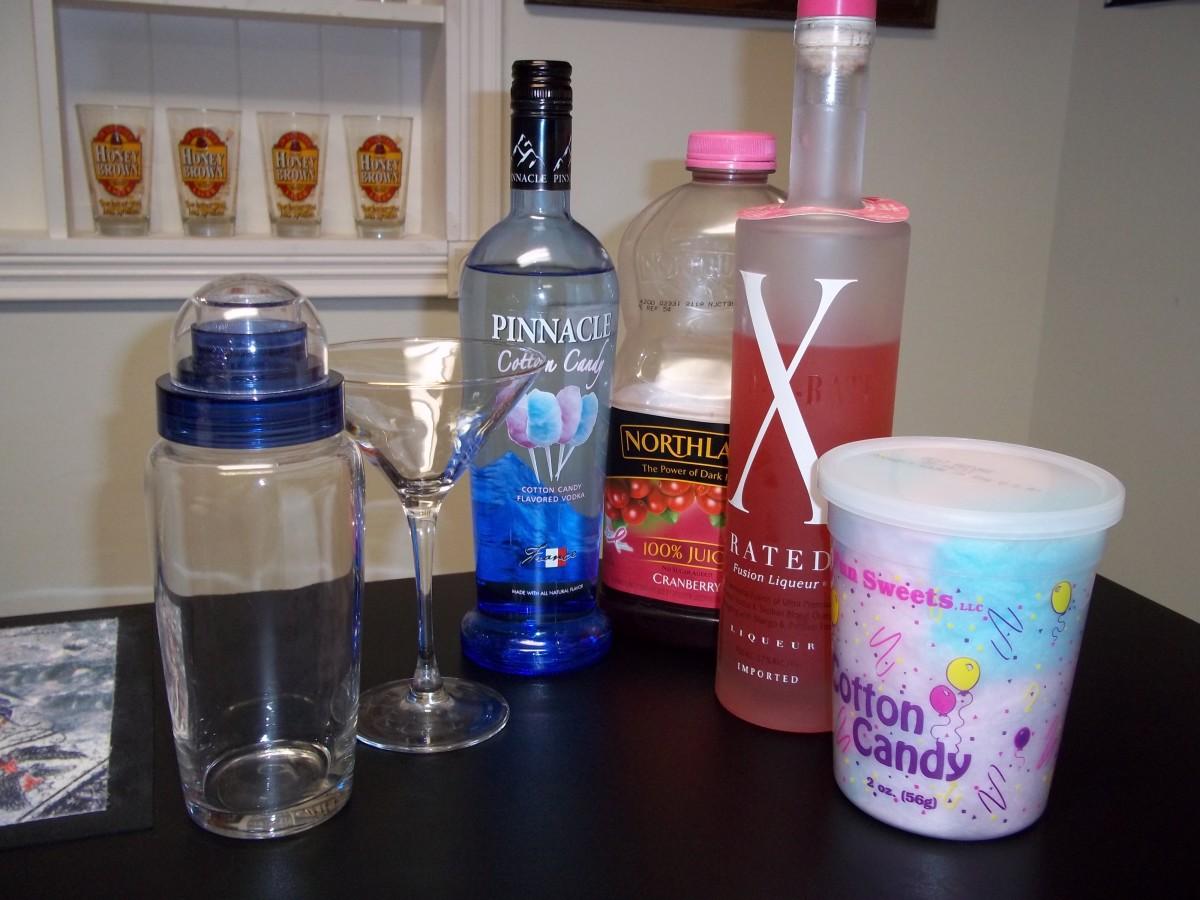 The Best Cotton Candy Martini Recipe Delishably