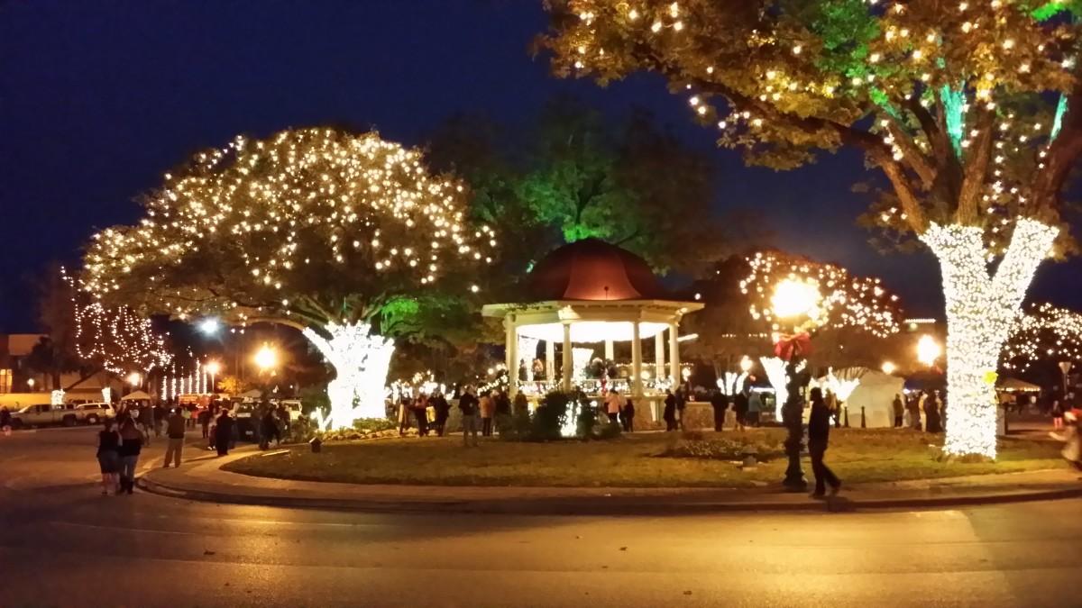 Wassailfest 2013 Town Square New Braunfels Texas