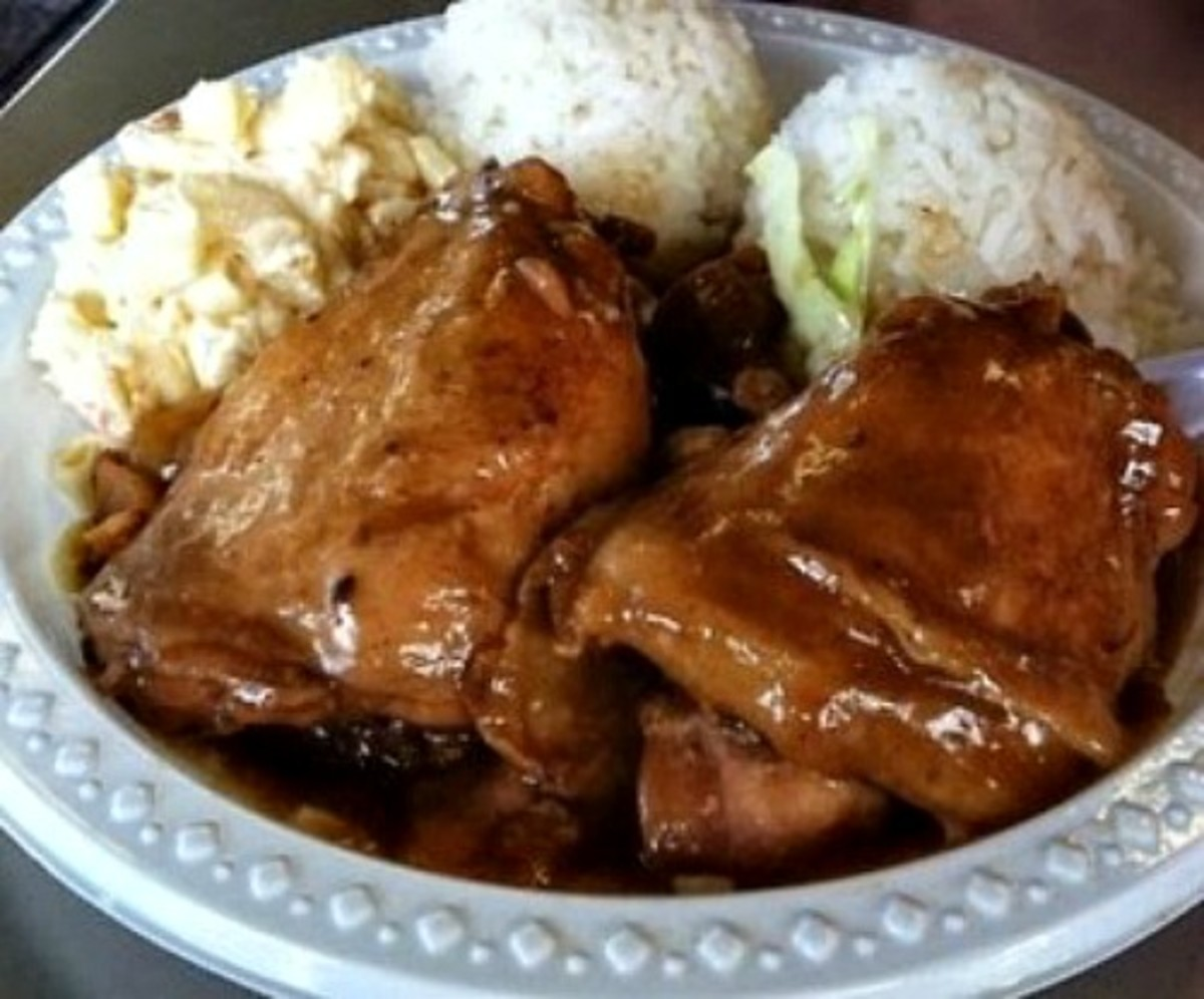 Shoyu Chicken Plate Lunch