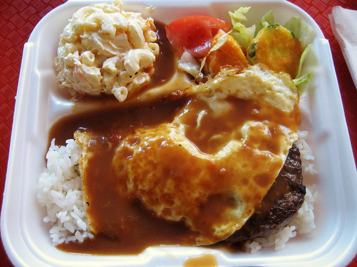 Loco Moco Plate Lunch