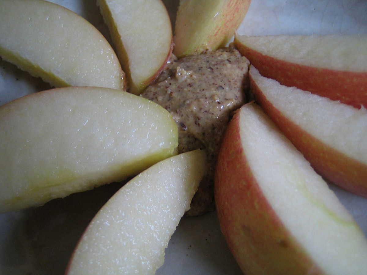 Almond Butter and Apples