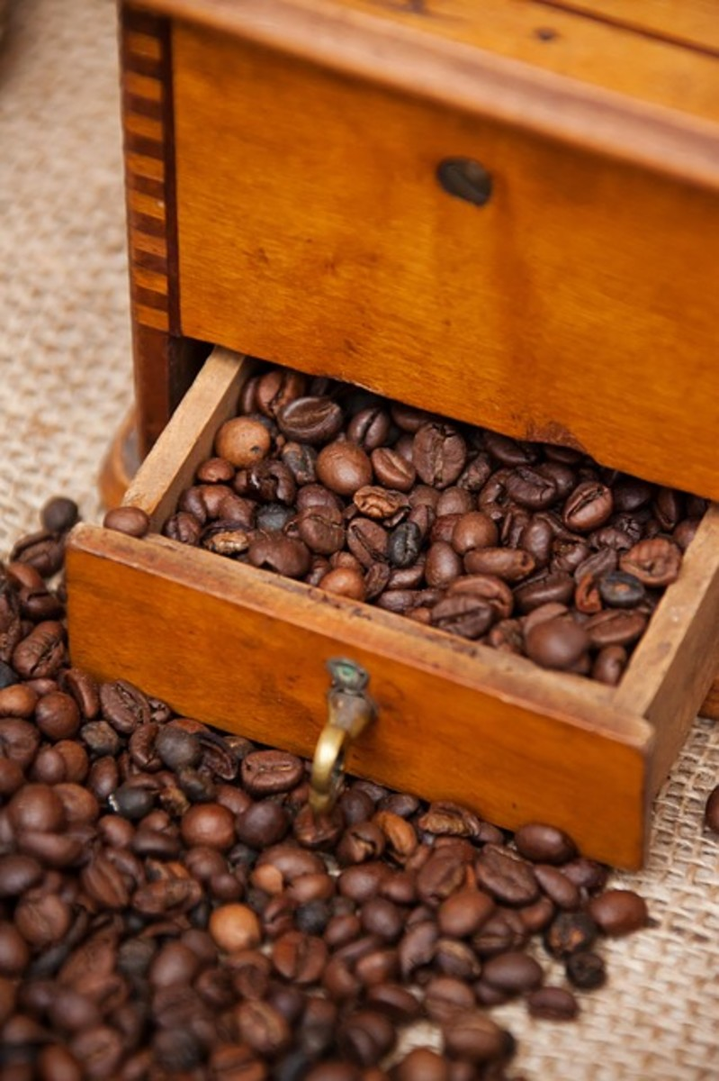 Generally speaking, you want to avoid storing exposed coffee beans for longer than two weeks. This usually means buying smaller portions of coffee, enough to last you just a week or so.