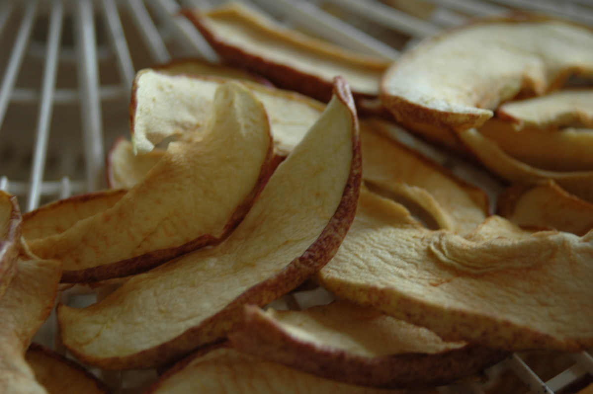 Dried Organic Apples